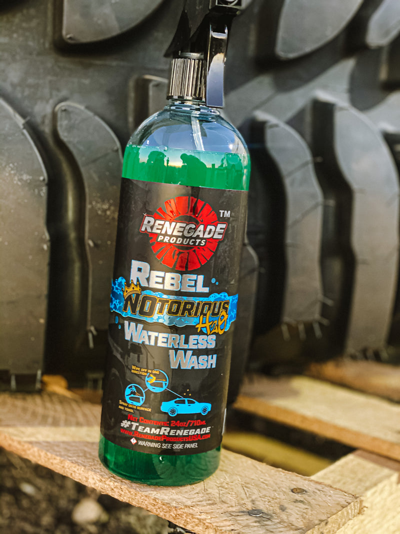 Rebel N0torious H2O Waterless Wash