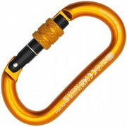Oval Alu Classic Screw Sleeve Carabiner