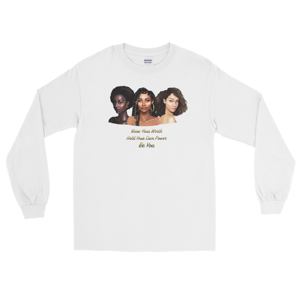 Know Your Worth Long Sleeve Tee