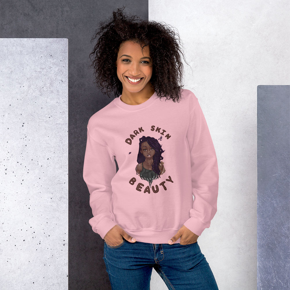 Dark Skin Beauty Sweatshirt
