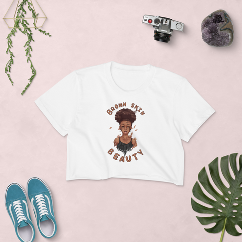 Brown Skin Beauty Crop Top