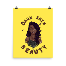 Load image into Gallery viewer, Dark Skin Beauty Poster