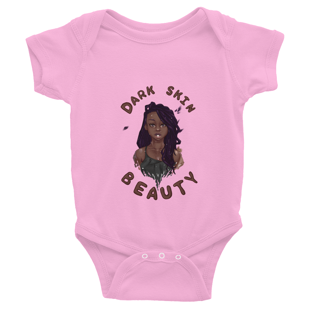 Dark Skin Beauty Infant Bodysuit