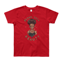 Load image into Gallery viewer, Brown Skin Beauty Youth Short Sleeve T-Shirt