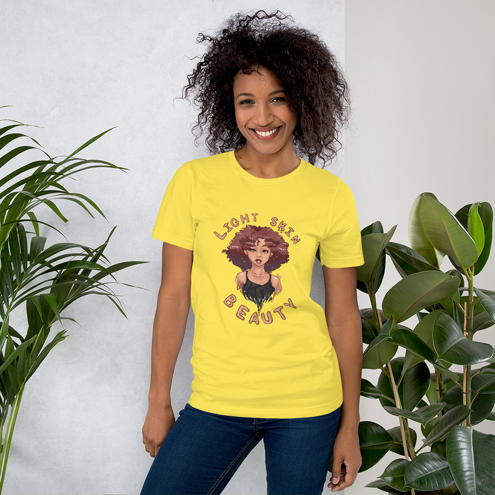 Light Skin Beauty Unisex Tee