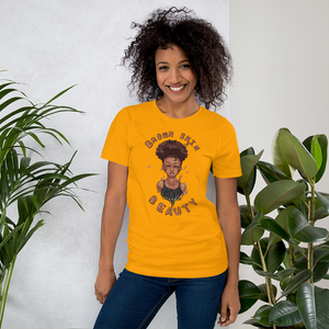 Brown Skin Beauty Unisex Tee