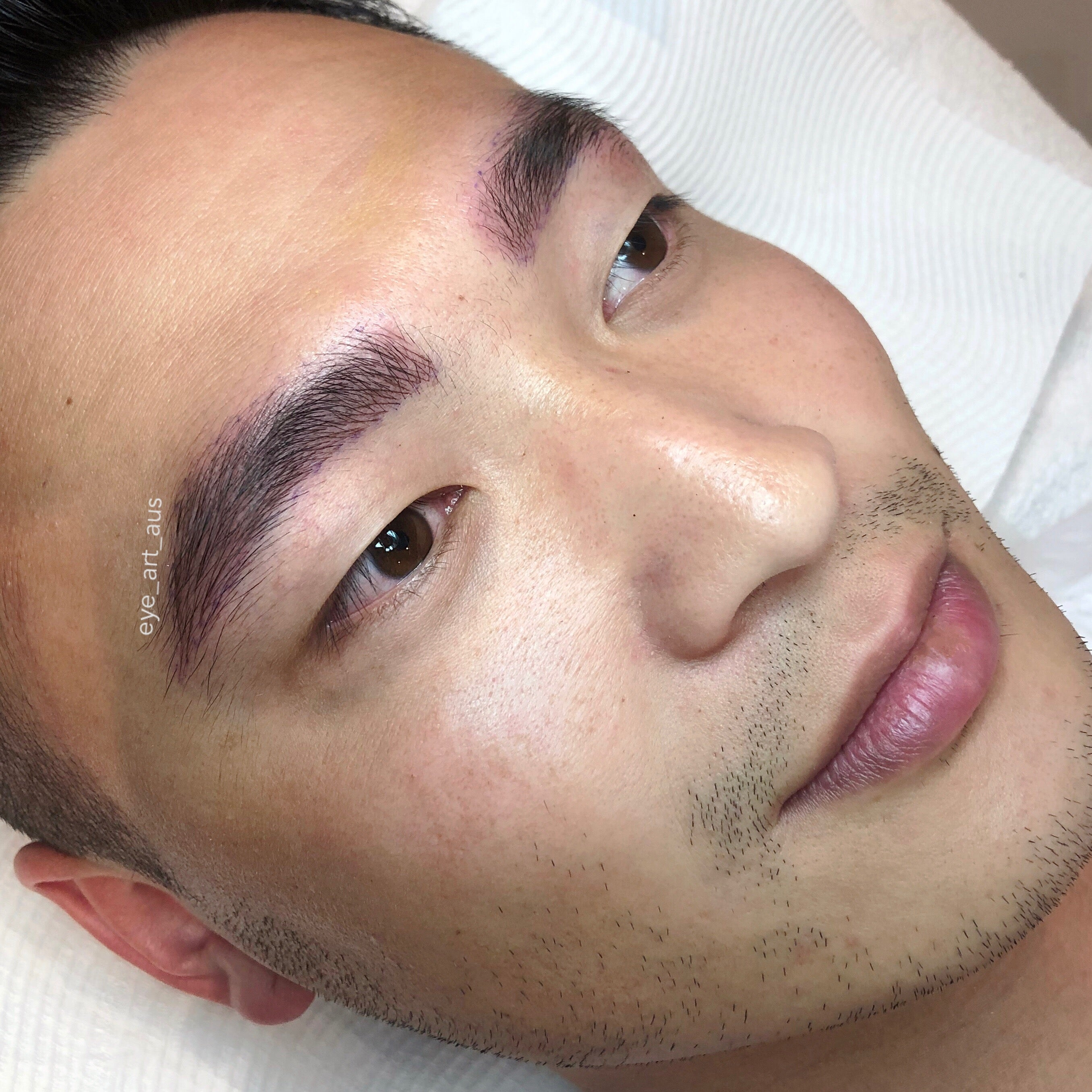 Mens Eyebrow Tattooing Melbourne Eyebrow Feathering Microblading