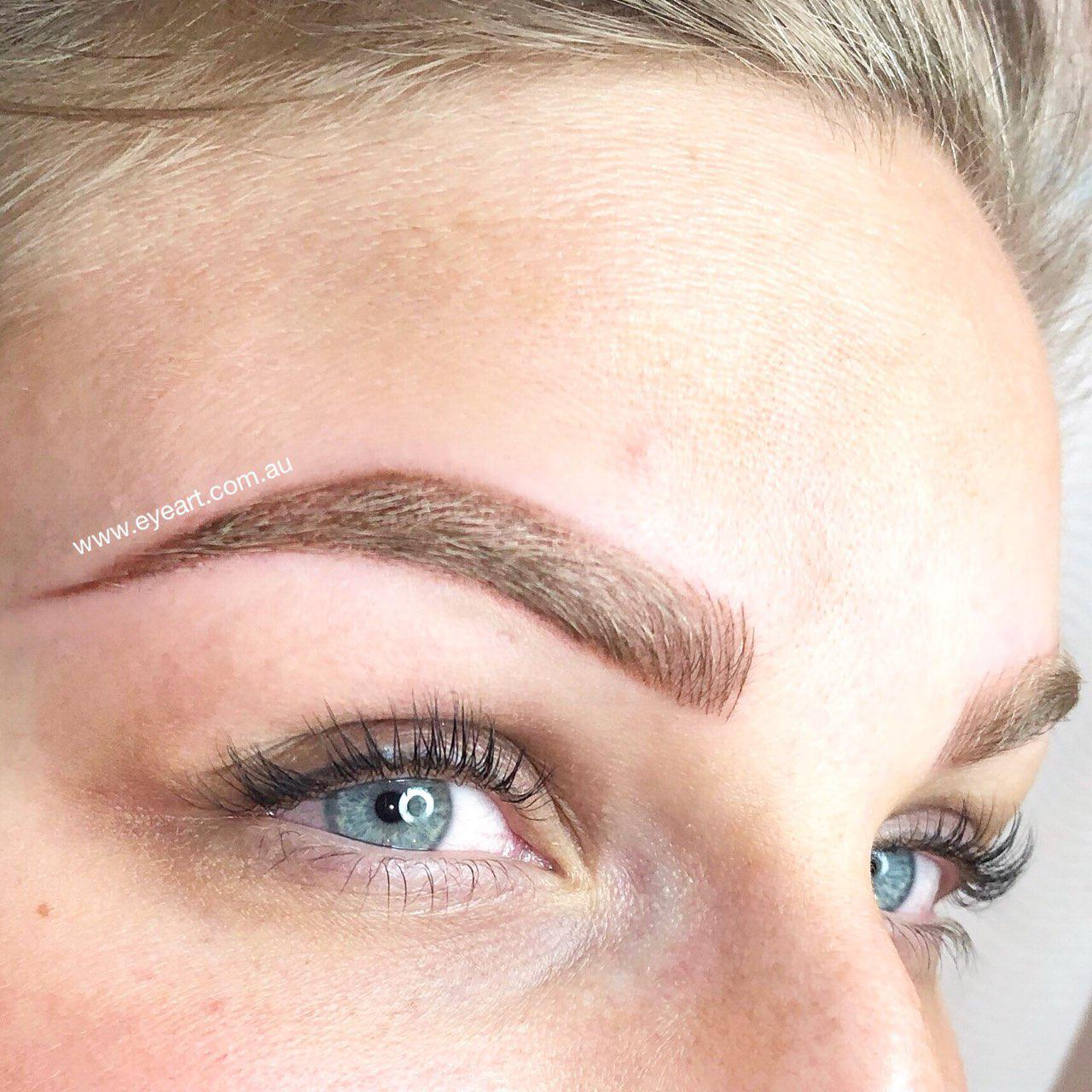 Combination Eyebrow Tattoo in Melbourne