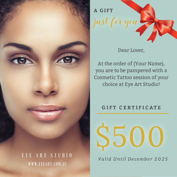 Eyebrow Microblading Gift Certificate