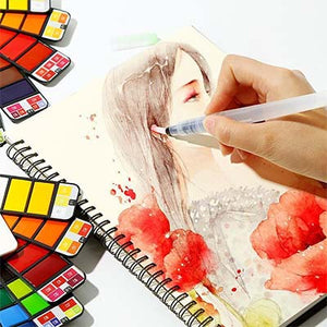 NomadArt™ Premium Portable Watercolor Kit