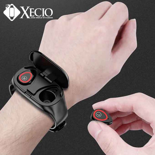 Xecio™ Smart Wristlet With Earbuds