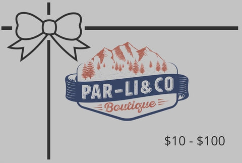 ParLi Boutique Gift Card