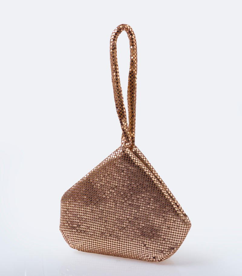 Gold Chainmail Bag
