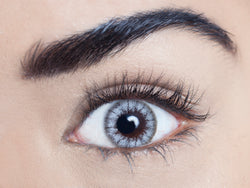 Maria white coloured contact lens