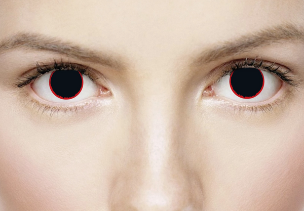 Hell Raiser Halloween contact lens