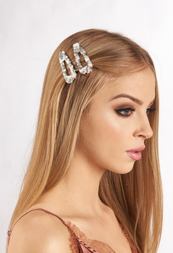 Concord style hair slide