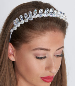 Clear Mini Crystal Headband
