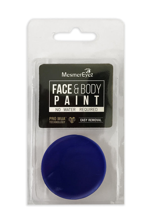 Blue Face Paint & Body Paint
