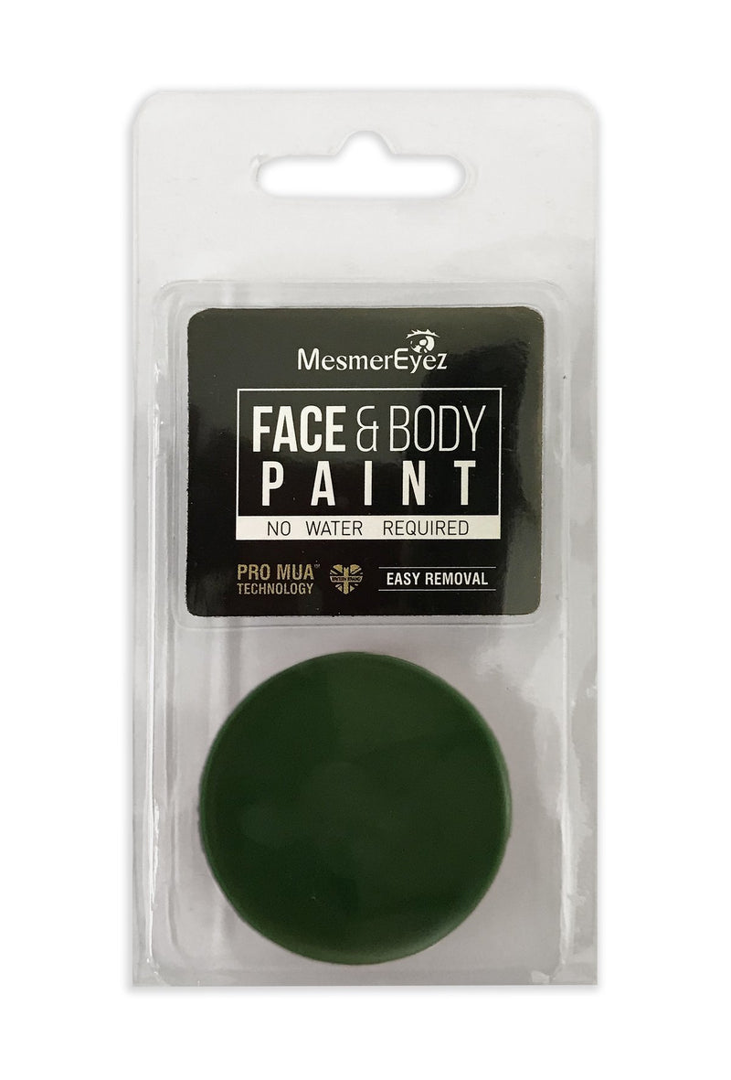 Green Face Paint & Body Paint
