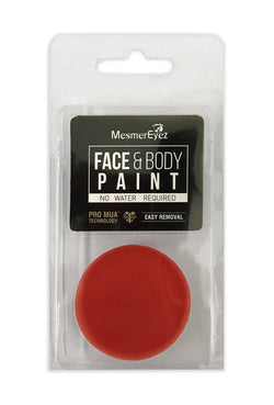 Red Face Paint & Body Paint