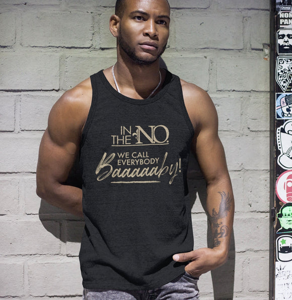 Black & Gold Men's Tank
