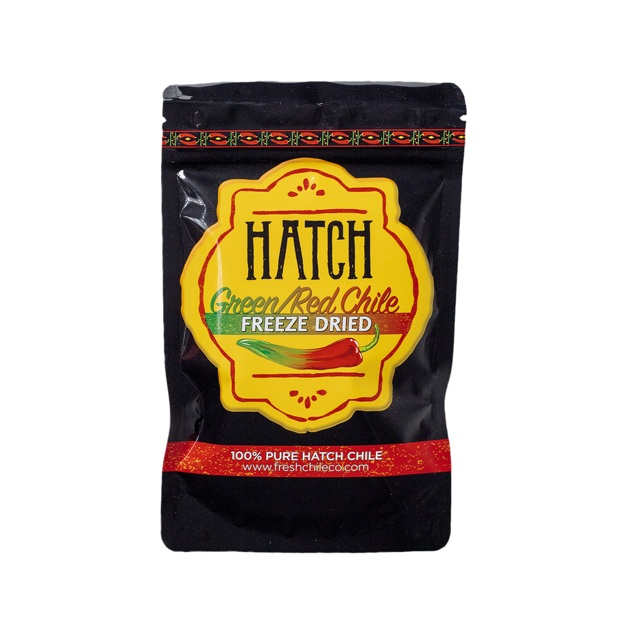 Freeze Dried Hatch Green & Red Chile