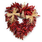 Decorated Chile Heart Ristra - The Fresh Chile Company