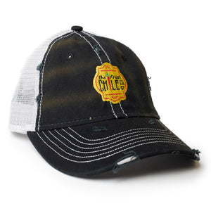 Fresh Chile Co. Dirty-Wash Mesh Cap - The Fresh Chile Company