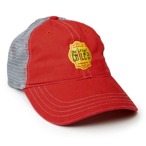 Fresh Chile Co. Contrast Stitch Mesh Cap - The Fresh Chile Company