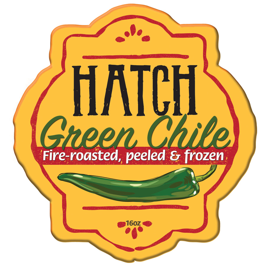 Roasted & Frozen Hatch Green Chile - Xtra Hot