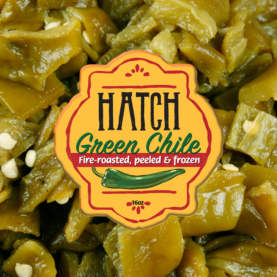 Roasted & Frozen Hatch Green Chile - Medium - The Fresh Chile Company
