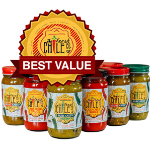 Hatch Chile Variety Pack - Twelve Jars - The Fresh Chile Company