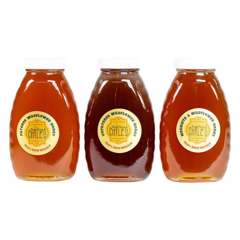 Local, Raw New Mexico Honey - Set of Three (OFFER)