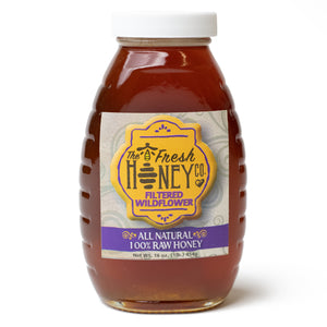 Raw, Filtered Wildflower Honey