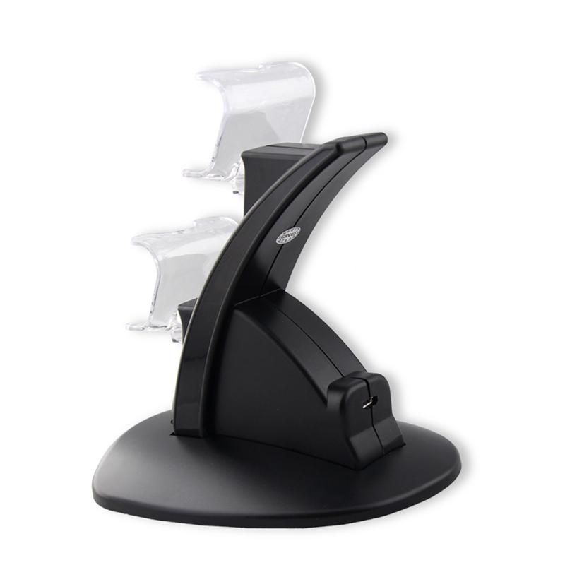 Jet-Black Elite PS4™ Controller Charging Dock