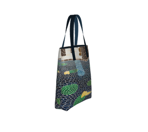 Lily Pads Lined Tote Bag