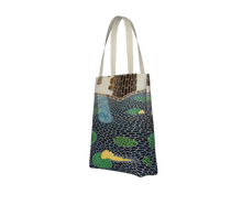 "Load image into Gallery viewer, ""Lily Pads"" Tote"