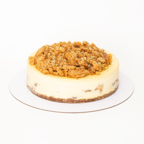 CHEESECAKE DUTCH APPLE STREUSEL