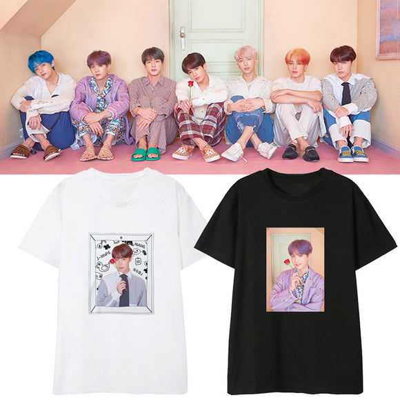BTS Map of The Soul: Persona Member Photo T-Shirt (2 Colors)