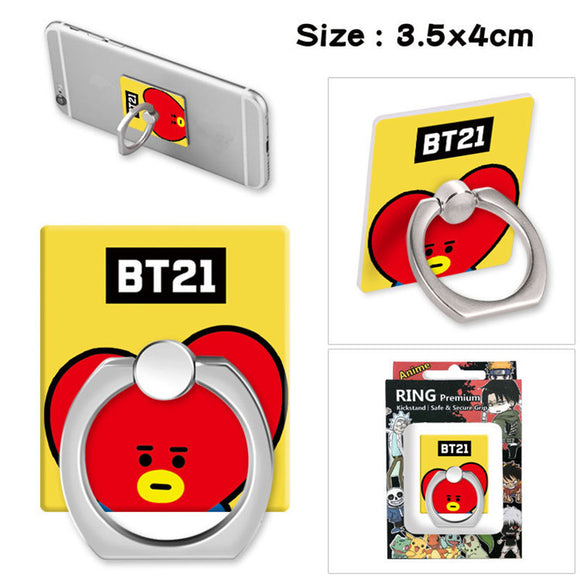 BTS BT21 Phone Finger Ring Stand