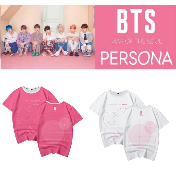 BTS Map Of The Soul Persona Classic T-Shirt (4 Colors)