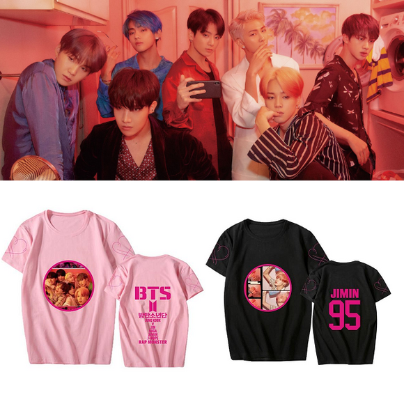 BTS MAP OF THE SOUL: PERSONA Member Photo T-Shirt (3 Colors)
