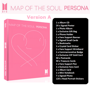 BTS MAP OF THE SOUL PERSONA ARMY BOX (Type 1)