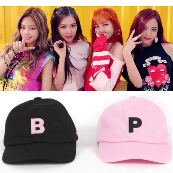 BLACKPINK BLINK Embroidered Baseball Cap (2 Colors)