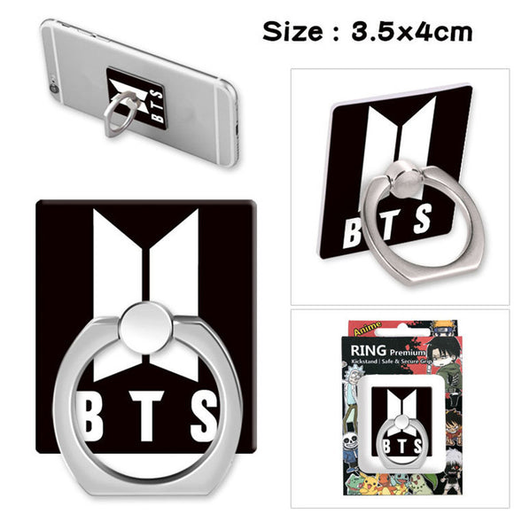 BTS Phone Finger Ring Stand