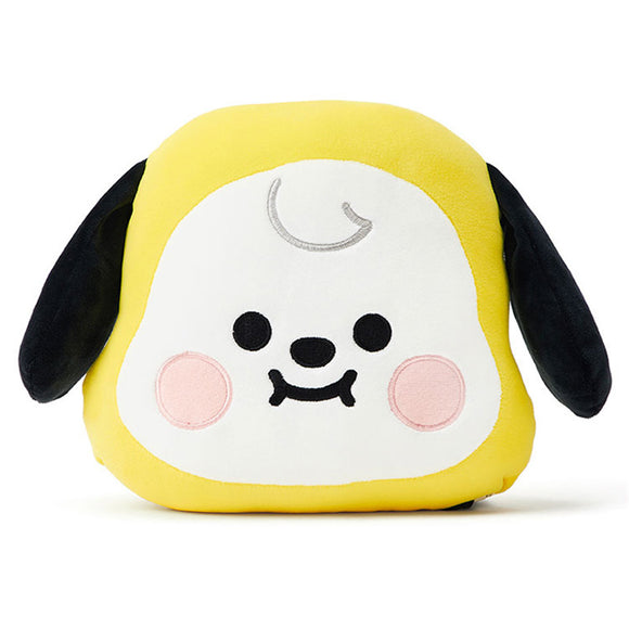 BT21 Cute Baby Face Plush Toy Cushion