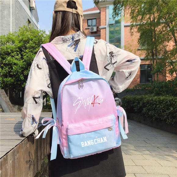 STRAY KIDS Colorful Classic Backpack