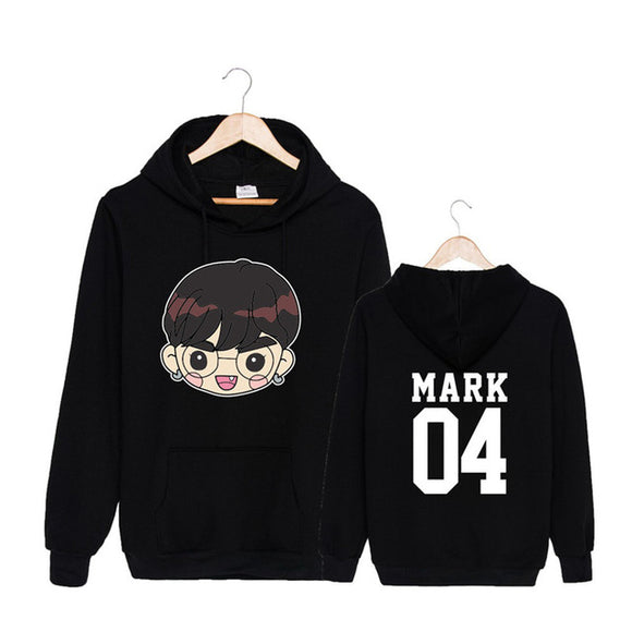 GOT7 Kawaii Cartoon Member Hoodie (2 Colors)