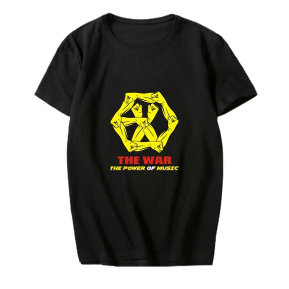 EXO THE WAR THE POWER OF MUSIC Member T-Shirt (4 Colors)