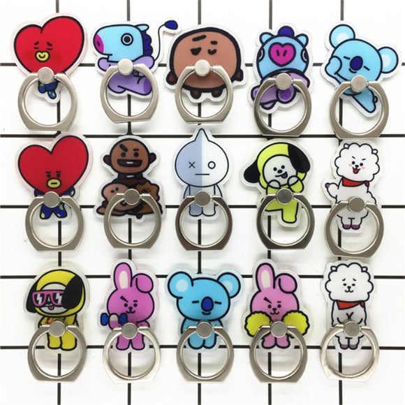 BT21 Phone Finger Ring Stand